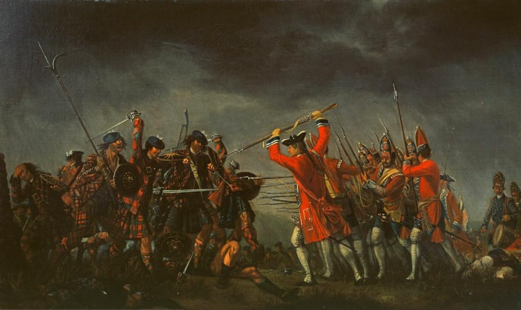 Bitwa pod Culloden, mal. David Morier